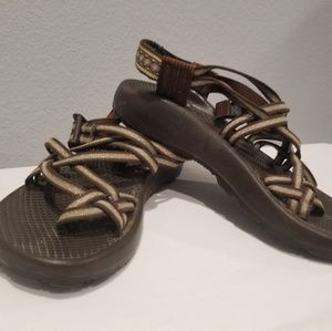 CHACO Vibram Women's Sports Sandals Size 6 Brown